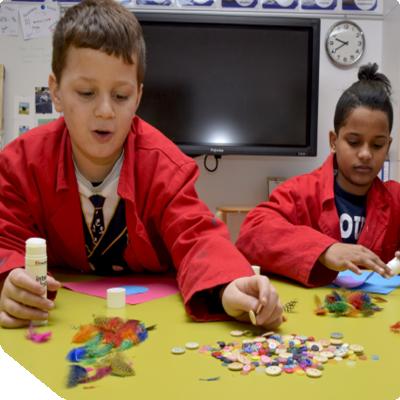 Creatief met speciale leerlingen